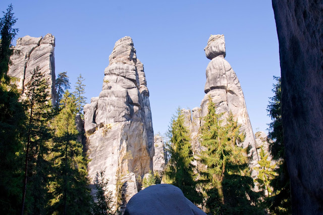 skalne miasto w Czechach jak dojechać?