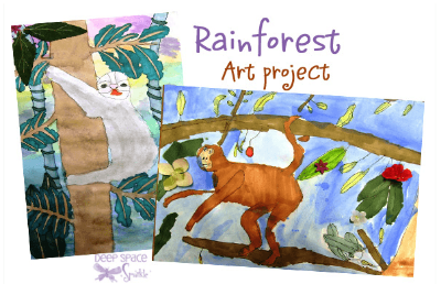 http://www.deepspacesparkle.com/2008/02/16/rainforest-art-lesson/