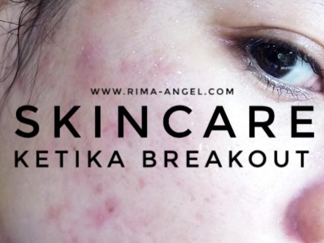 skincare breakout rima angel