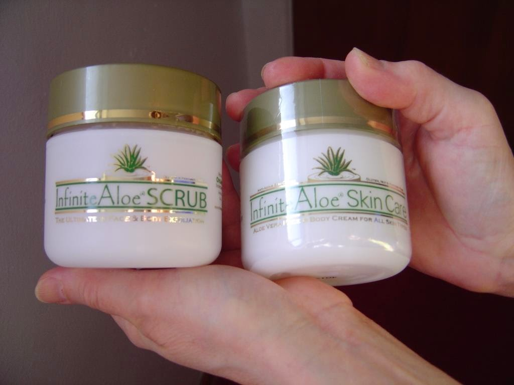 InfiniteAloe Scrub and Skin Care