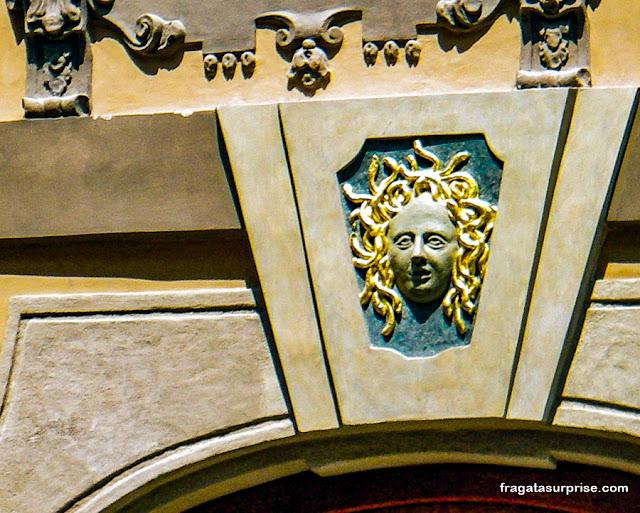Casa da Medusa, Rua Nerudova, Praga