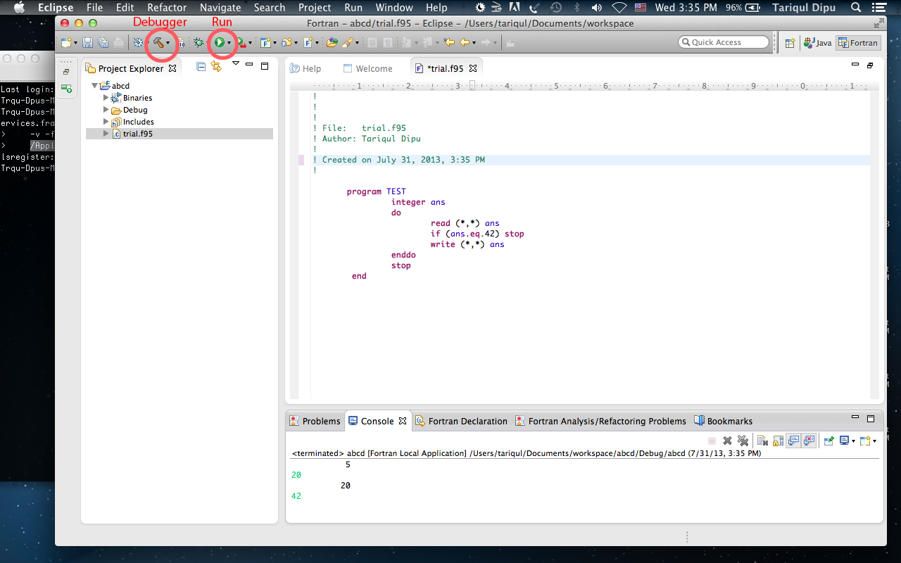 How to install Fortran compiler   Tariqul Dipu