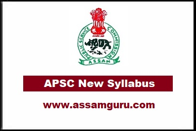 Syllabus  of Apsc exam