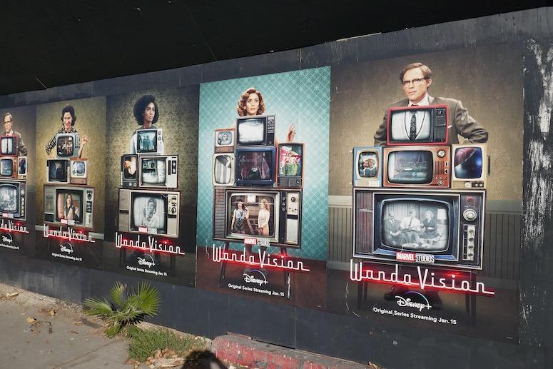WandaVision street posters