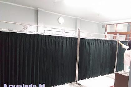 Hijab Masjid pesanan Bu Irma untuk Masjid Nur Al Ikhlas Coblong Bandung
