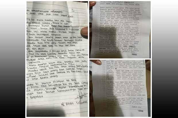 Surat Wasiat Bomber Makassar dan Penyerang Mabes Polri Ada Kemiripan