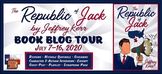 The Republic of Jack book blog tour promotion banner