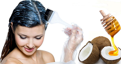 Маска за коса с кокосово масло и мед