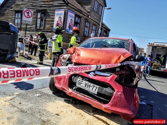 Accidente en Rahue bajo - Osorno