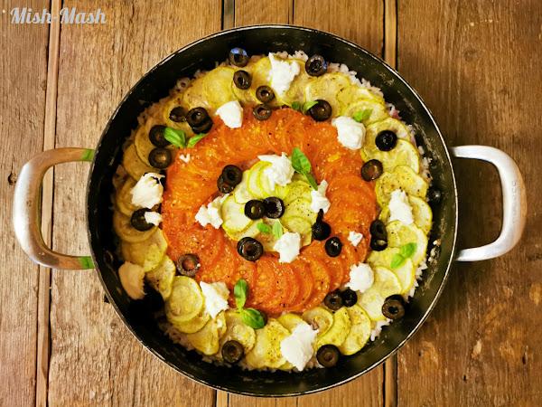 Средиземноморски зеленчуков ориз