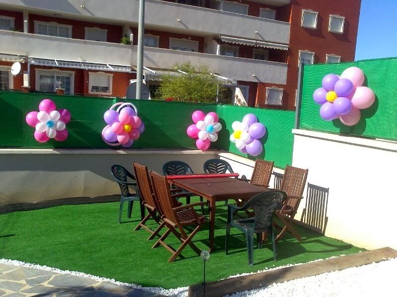 Decoracion Con Globos Arco Con Flores Y Mariposas Manualidades Amelia
