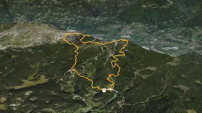 GPS Monte Ortigara e Cima Caldiera