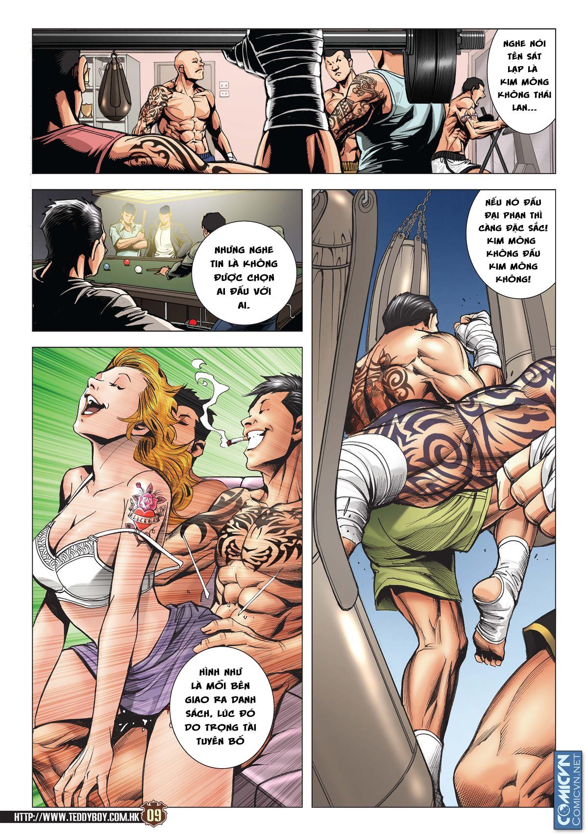 Người Trong Giang Hồ chapter 2113: cự tinh chi chiến trang 7