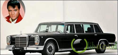 Mercedes Benz 600 Pullman - Elvis Presley