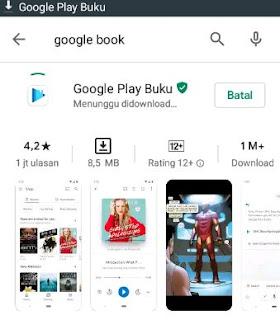 cara download buku di android gratis