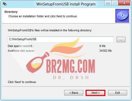 شرح بالصور طريقة نسخ وندوز xp علي usb ببرنامج WinToFlash v0.7.0034