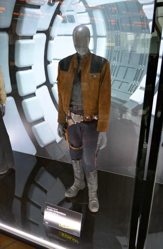 Alden Ehrenreich Han Solo movie costume