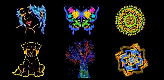 تنزيل Doodle Master - Glow Art  تطبيق خربشة رسومات الشعار المبتكر المتحركة لنظام الاندرويد