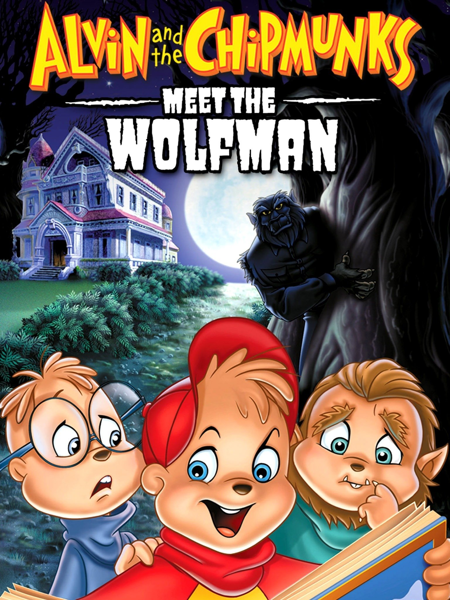 Alvin and the Chipmunks Meet the Wolfman (2000) English 720p BluRay 600MB Download