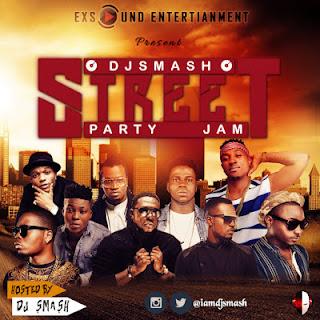 STREET%2BPARTY%2B 00 - DJ Smarsh Street Party Jam