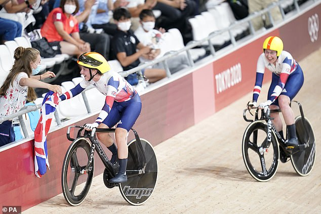 British cyclist Laura Kenny wins her FIFTH gold medal with stunning performance in Tokyo