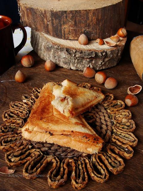 tosty z orzechami