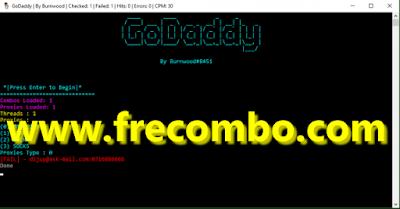 Godaddy Checker By Burnwood