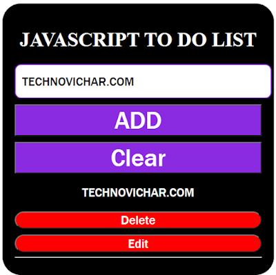 Javascript_se_TO_DO_LIST_Kaise_banaye_in_Hindi_Javascript_Mini_Project