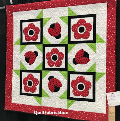 Ladybug Dance by QuiltFabrication