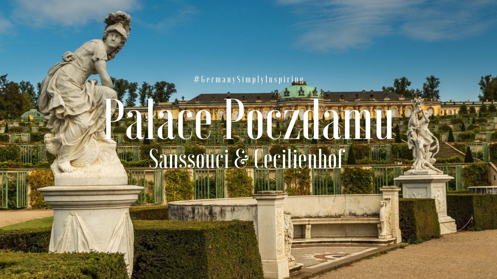 Poczdam Pałac Sanssouci