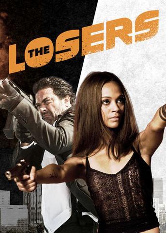 The Losers 2010 Dual Audio Hindi 480p BluRay x264 300MB ESubs