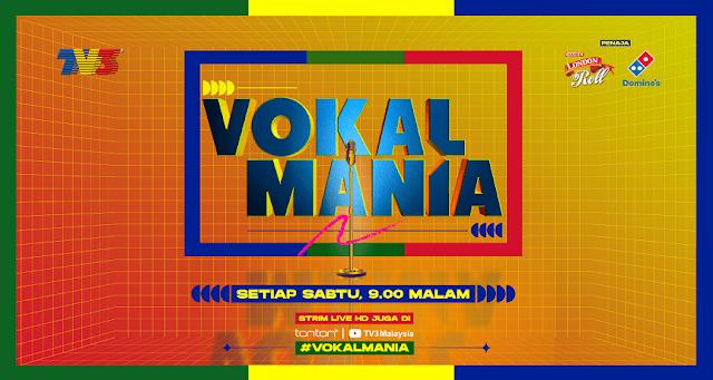 Live Streaming Vokal Mania TV 3 Minggu 1