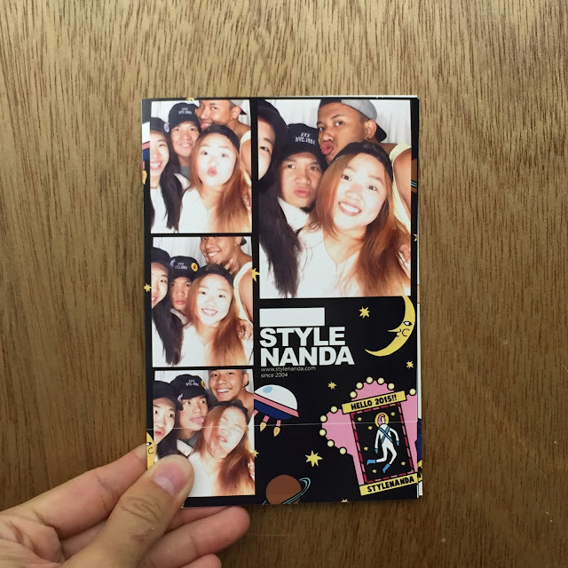 Stylenanda hongdae photo booth