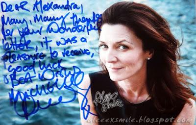 Michelle Fairley Autograf Autograph Harry Potter