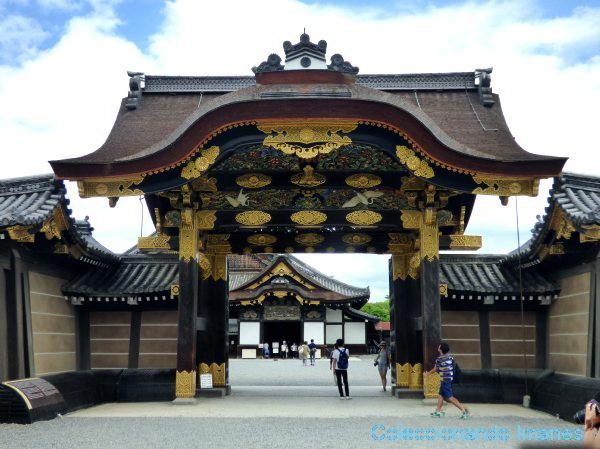 Entrada castillo Nijo Kyoto