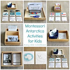Montessori Antarctica Activities for Kids