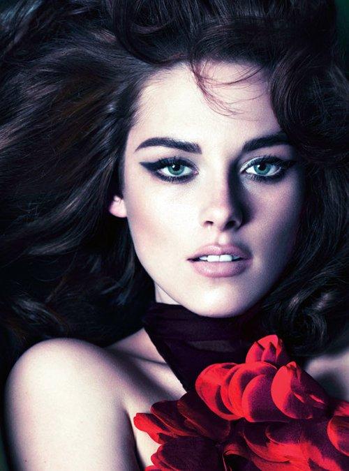 Kristen Lip Kit Matte Liquid Lipstick: Love My Hairstyle: Model: Kristen Stewart For W Magazine