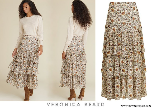 Princess Madeleine wore Veronica Beard Shailene Skirt
