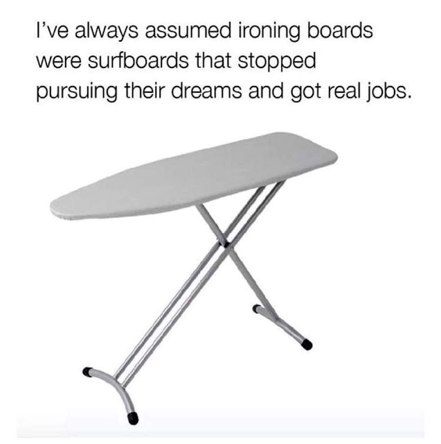 Funny ironing boards meme joke picture