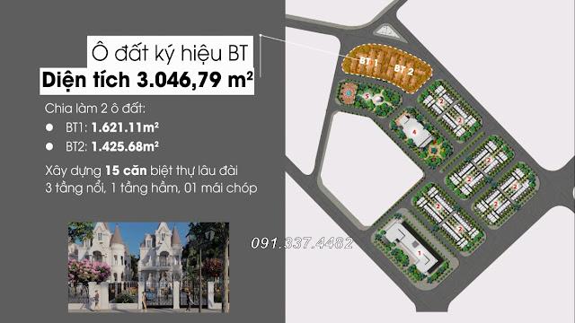 Thiết kế cảnh quan hạ tầng giá bán khu Yellow Helianthus Center Red River dự án Cổ Dương Đông Anh Hà Nội
