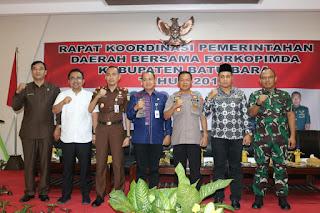 Menyikapi Pesan Presiden Jokowi, Bupati Zahir Gelar Rakor Dengan Forkopimda