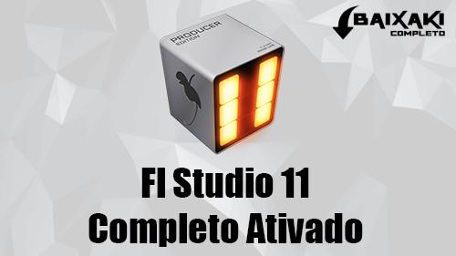 FL Studio Producer Edition 11 + Crack 32/64 Bits Torrent