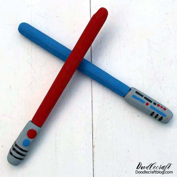 How to make the coolest pens in the entire galaxy using EasySculpt resin clay.
