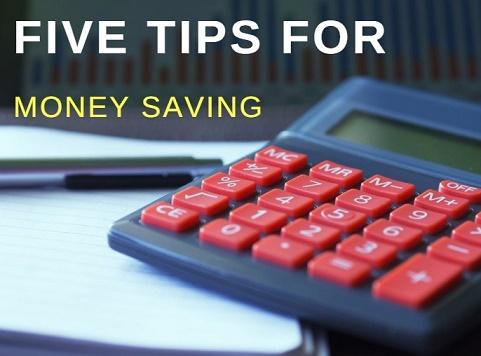 Top 5 Money Saving Tips