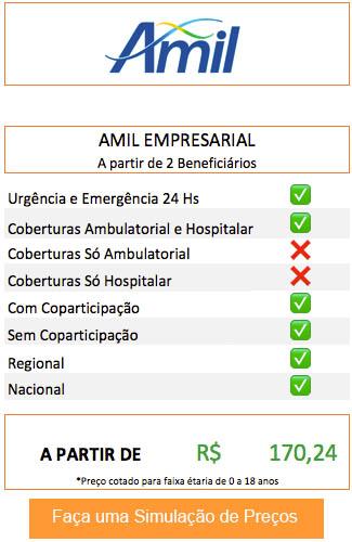 Plano de Saúde Empresarial Amil DF