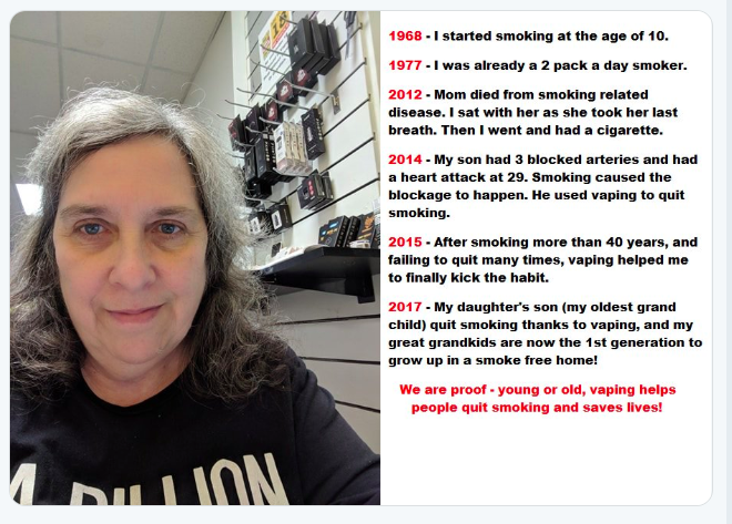 Worldvapingday2019: Thank you for telling your story