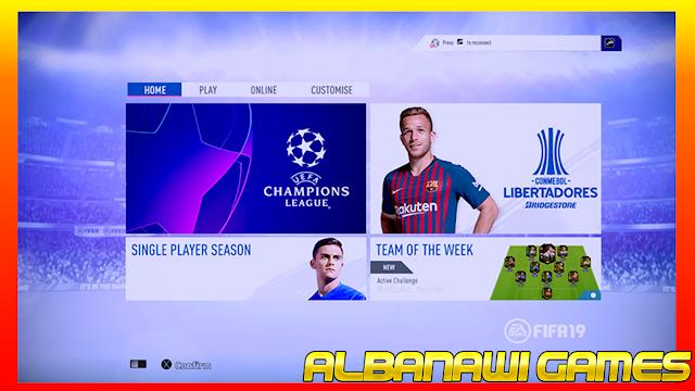 رسومات جديد مثل FIFA 19 العشب الجديد HD مثل FIFA 19 تمت إضافة إعلان FIFA 19 الرسمي لوحة FIFA 19 الرسمية ويشمل هذا وزارة الدفاع أيضا فيكس الحلو