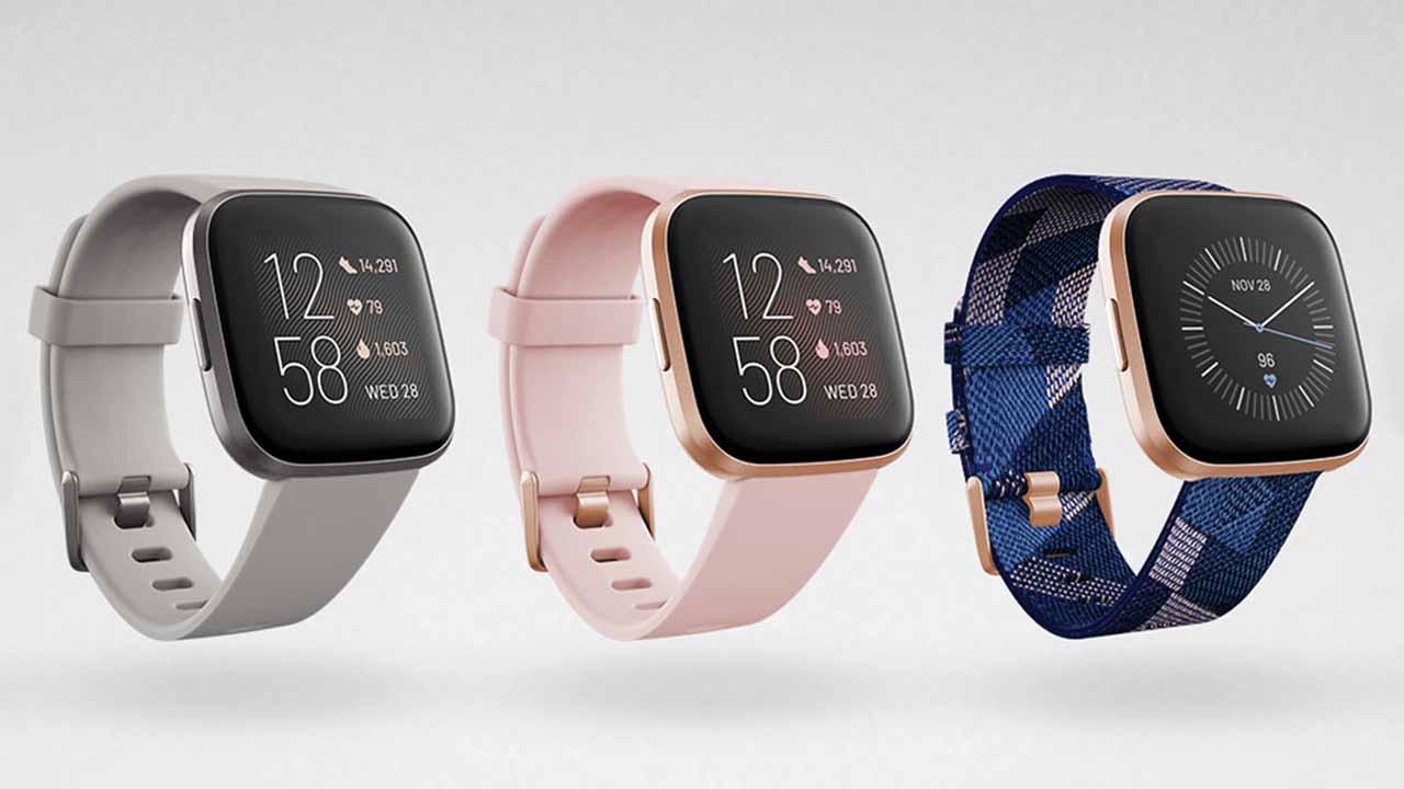 Fitbit FB507BKBK Versa 2 Health & Fitness Smartwatch