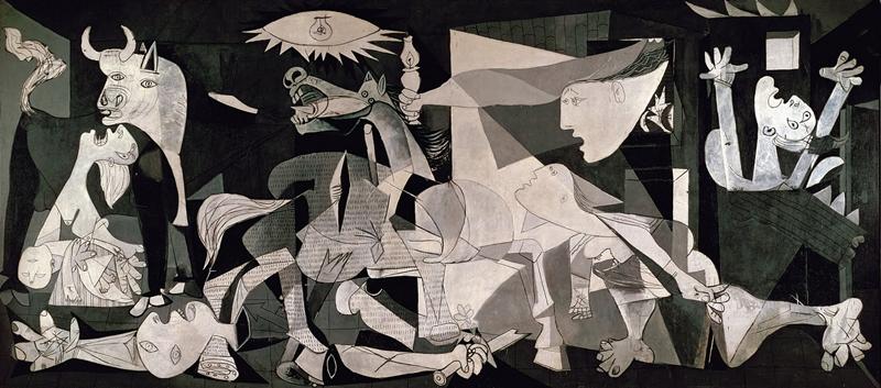 Pablo Picasso   Il Guernica, 1937   Art in Detail   Tutt'Art@   Pittura •  Scultura • Poesia • Musica