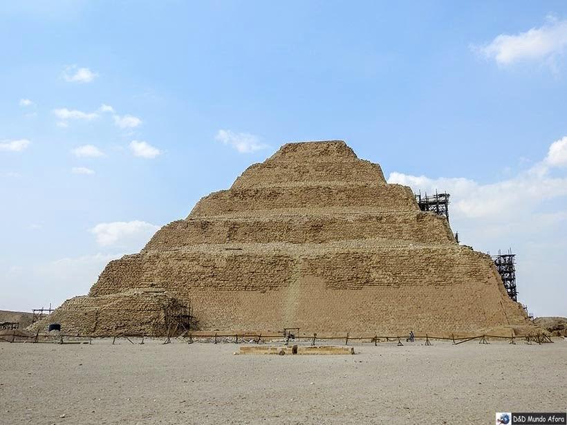 Pirâmide de Djoser em Saqqara - Diário de Bordo: 2 dias no Cairo
